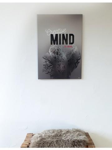 Spotpris / Canvas: Creative Mind (Quote Me)