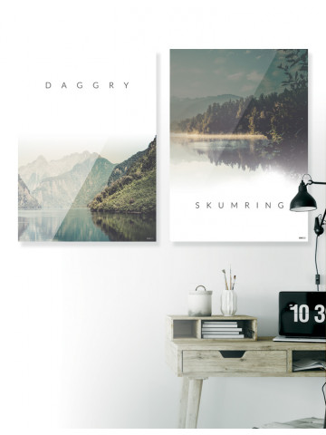 Plakat / CANVAS: Daggry & Skumring (Nature)