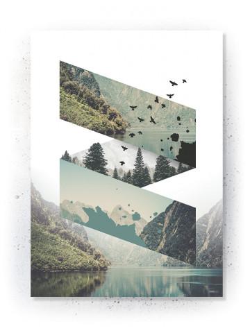Plakat / Canvas / Akustik: Dimensions (Nature)