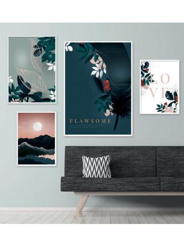 Plakat / CANVAS: Earth No. 1 (Earth)