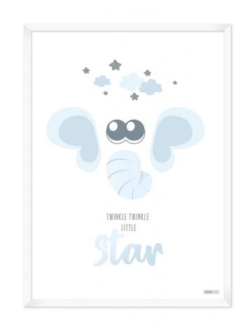 Plakat: Elefant (Drengeværelset)