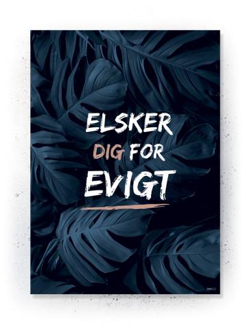 Plakat / CANVAS: Elsker dig for evigt (Earth)