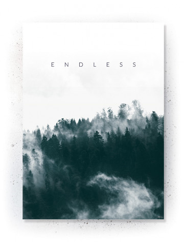 Plakat / Canvas / Akustik: Endless (Thoughts)