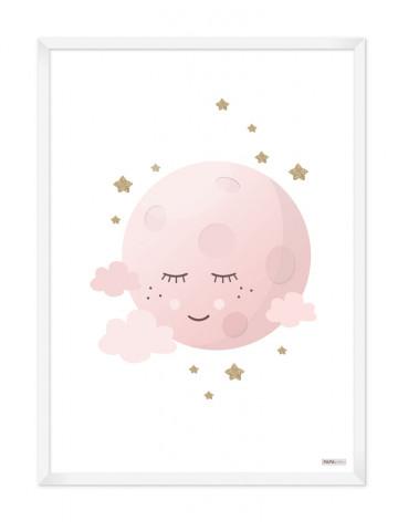 Plakat: Lyserød måne (Pigeværelset)