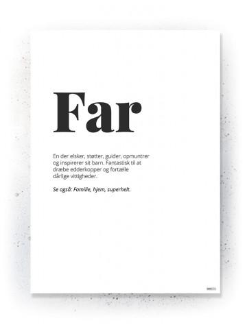 Plakat / Canvas / Akustik: Far (Quote Me)