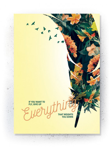 Plakat / Canvas / Akustik: Everything (Yellow spring)