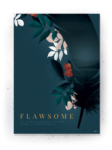 Plakat / CANVAS: Flawsome 2 (Earth)