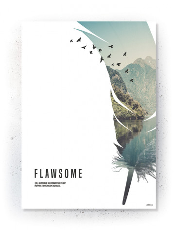 Plakat / Canvas / Akustik: Flawsome (Nature)