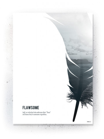 Plakat / Canvas / Akustik: Flawsome (Thoughts)