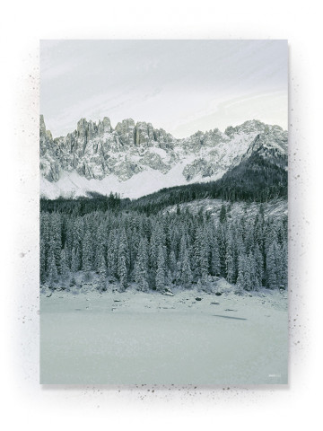 Plakat / Canvas / Akustik: Forest and Mountains (Thoughts)
