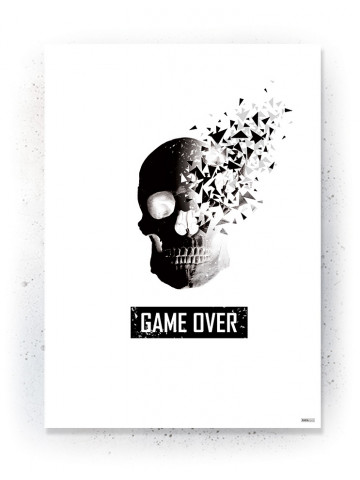 Plakat / Canvas / Akustik: Game Over (Quote Me)
