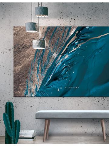 Plakat / Canvas / Akustik: Hi Octane Storformat / Panorama (Earth)