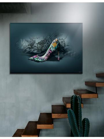 Plakat / Canvas / Akustik: High Heels / Panorama (Statements)