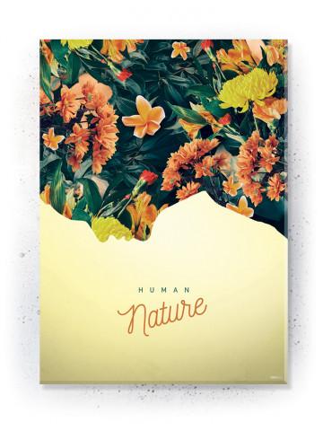 Plakat / Canvas / Akustik: Human Nature (Yellow spring)