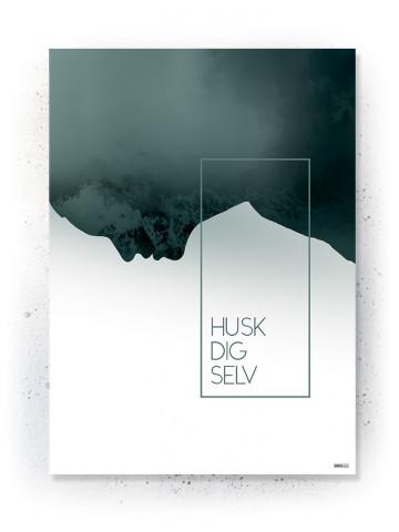Plakat / Canvas / Akustik: Husk Dig Selv (Thoughts)