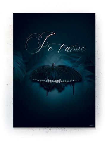 Plakat / CANVAS: J'e Taime (Earth)