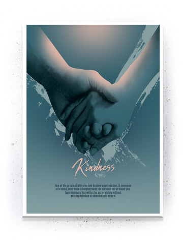 Plakat / Canvas / Akustik: Kindness (Empowerment)