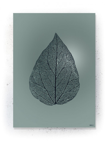 Plakat / CANVAS: Leaf 1 (Earth)