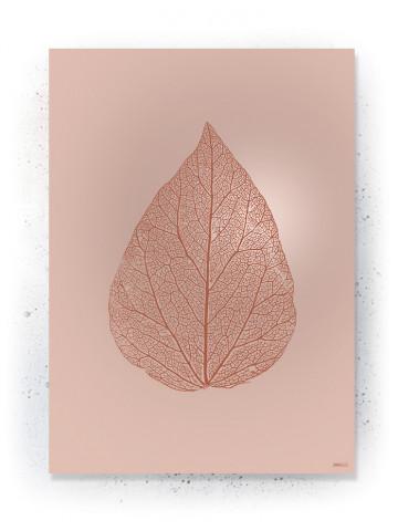 Plakat / CANVAS: Leaf 2 (Earth)