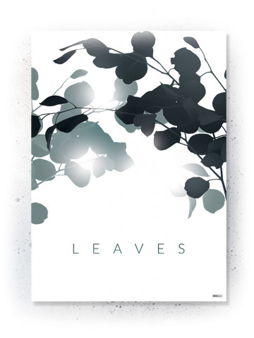 Plakat / Canvas / Akustik: Leaves (Thoughts)