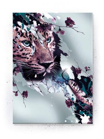 Plakat / Canvas / Akustik: Leopard (Disorder)