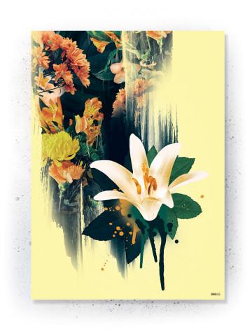 Plakat / Canvas / Akustik: Lilly (Yellow spring)
