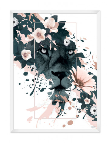 Plakat: Lion (Spring)