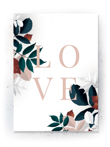 Plakat / CANVAS: LOVE 2 (Earth)