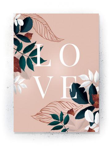 Plakat / CANVAS: LOVE 4 (Earth)