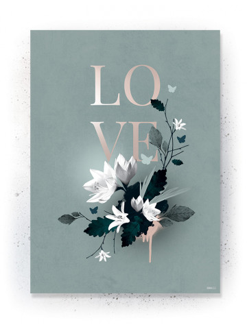 Plakat / CANVAS: LOVE 5 (Earth)