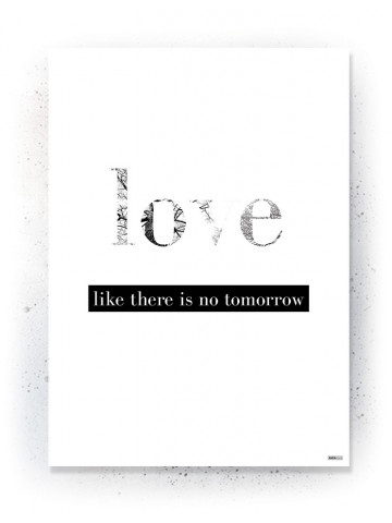 Plakat / Canvas / Akustik: Love (Quote Me)
