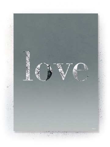 Plakat / Canvas / Akustik: LOVE (Thoughts)