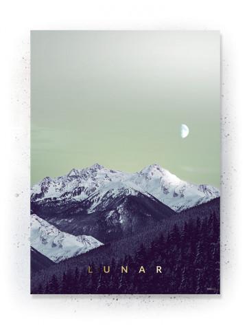 Plakat / canvas / akustik: Lunar (Fall)