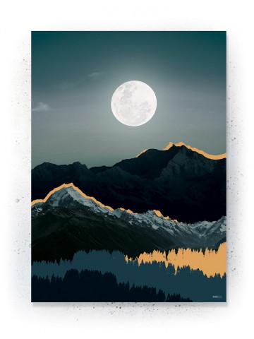 Plakat / CANVAS: Mountain 1 (Earth)