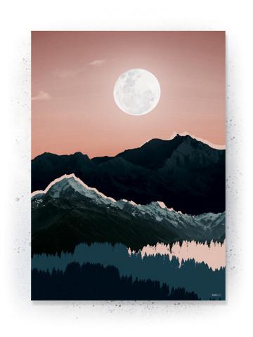 Plakat / CANVAS: Mountain 2 (Earth)