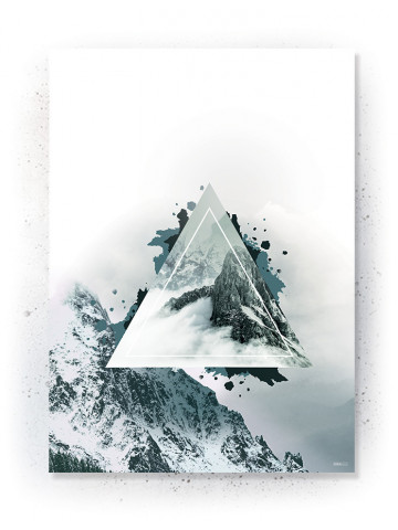 Plakat / Canvas / Akustik: Mountain (Thoughts)