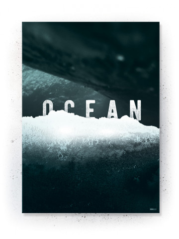 Plakat / Canvas / Akustik: OCEAN (Thoughts)