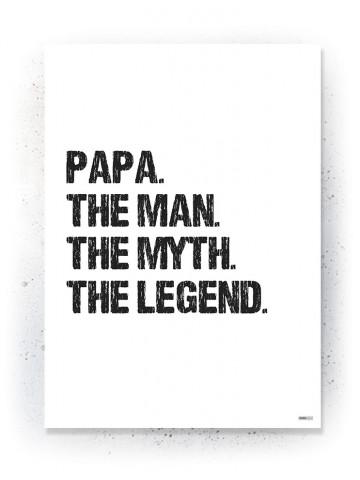 Plakat / Canvas / Akustik: PAPA (Quote Me)