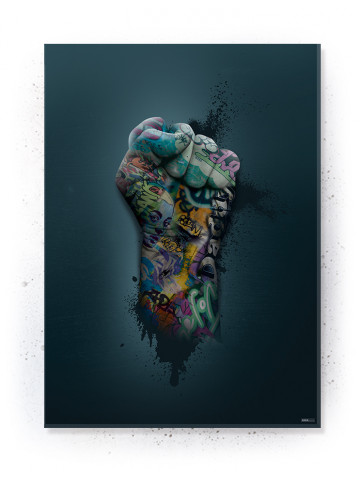 Plakat / Canvas / Akustik: Power Fist (Statements)
