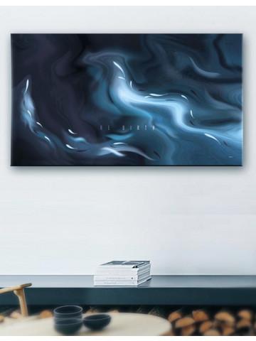 Plakat / Canvas / Akustik: Skumring (Indigo)