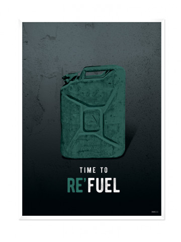 Plakat: Re'Fuel (Men Only)