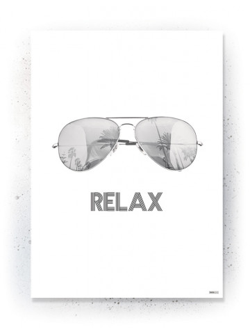 Plakat / Canvas / Akustik: Relax (Quote Me)