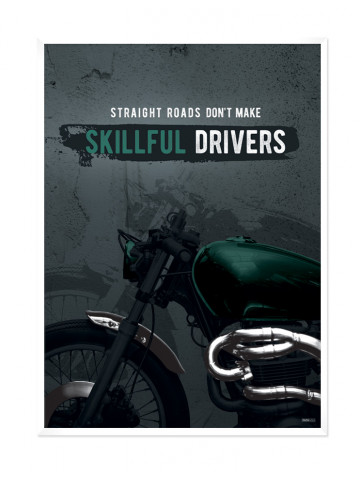 Plakat: Skillfull Drivers (Men Only)