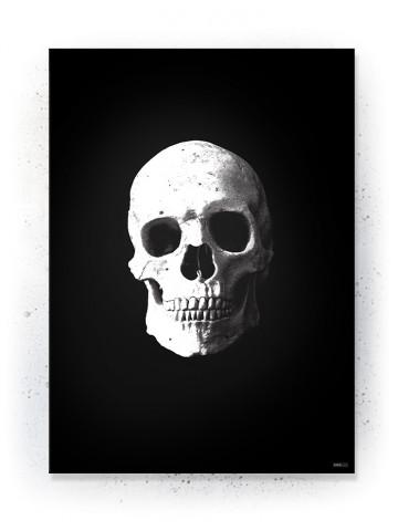 Plakat / Canvas / Akustik: Kranie (Black)
