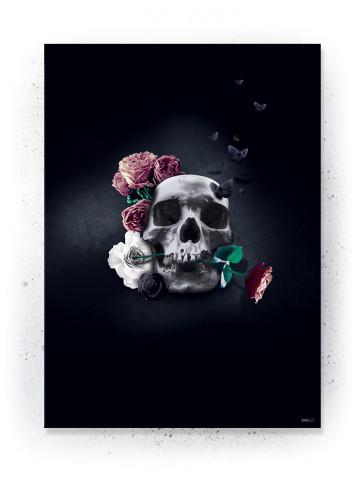 Plakat / canvas / akustik: Skull (Desire)