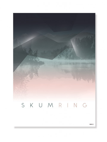 Plakat/Canvas: Skumring (BRIGHT)