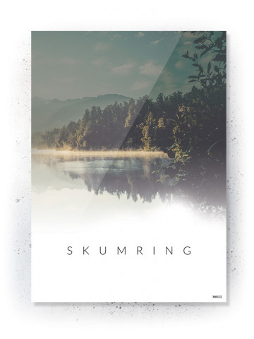 Plakat / CANVAS: Skumring (Nature)