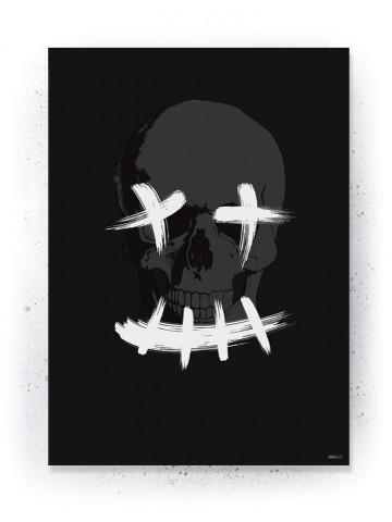 Plakat / Canvas / Akustik: Smiley (Black)