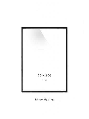 Dropshipping / Ramme: Sort 70x100cm