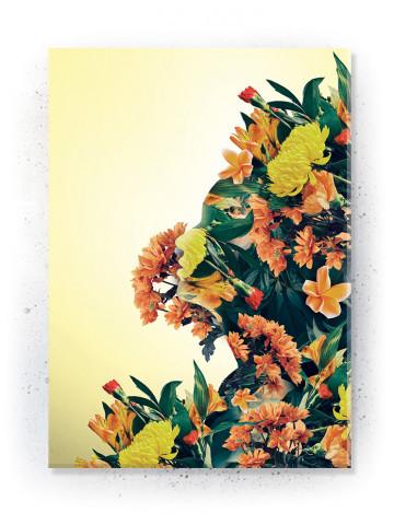 Plakat / Canvas / Akustik: Spirit of Nature (Yellow spring)
